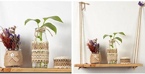 全2スタイル ロープリボン 飾りテープ ジュートコード製 家の装飾 壁の装飾 多用途   - スタイル2