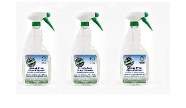 Detalle Devil streak free galss limpiador de vidrios para limpiar ventanas y espejos, vidrio manchado de agua, limpiaparabrisas: Amazon.es: Coche y moto