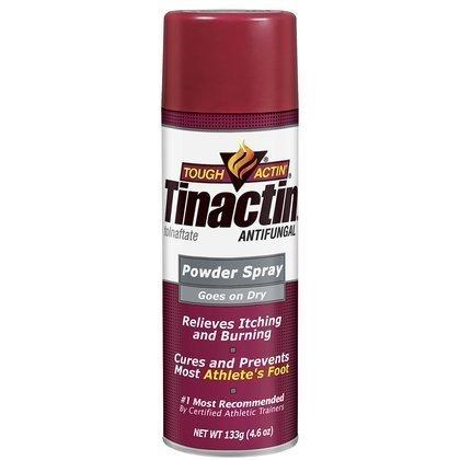 TINACTIN Antifungal Powder Spray, 4.6 oz 2pack
