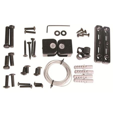 PRO SIGNAL 50-14725 TELEVISION SAFETY CABLE KIT UNIVERSAL MOUNT