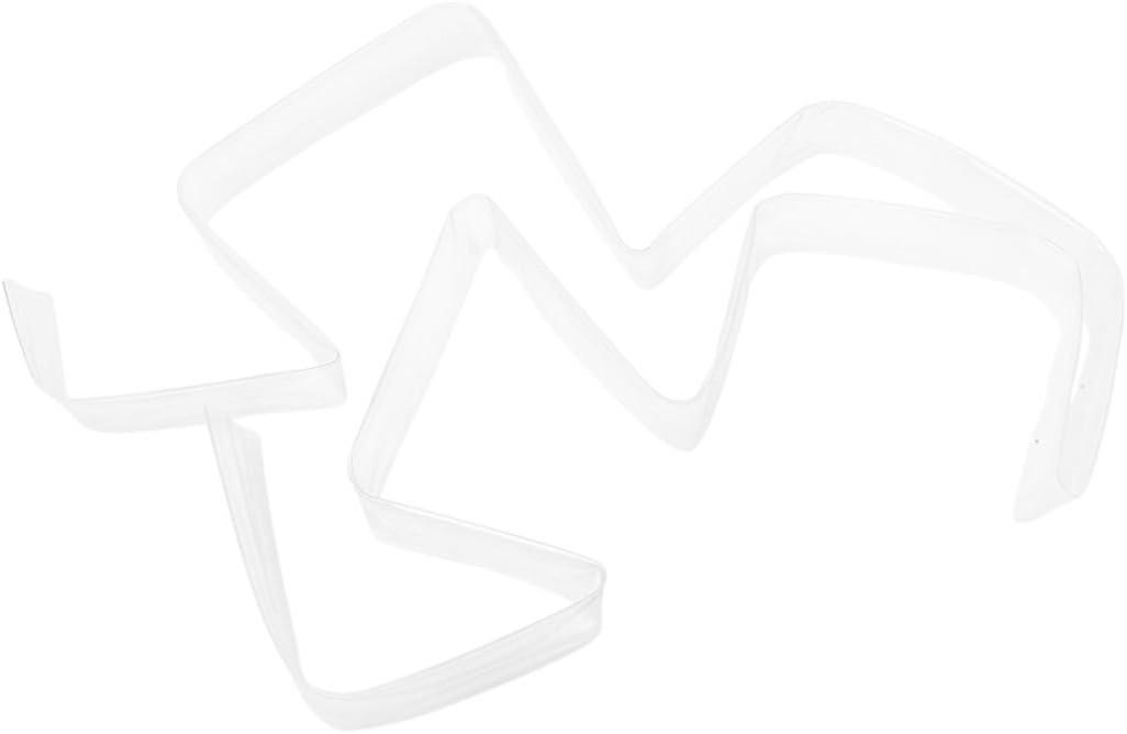 1 25 mm Tube thermoretractable polyolefine transparente 2M 6.6 Pieds SNOWINSPRING Rapport de 2