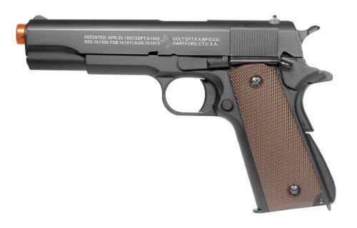 Colt M1911 A1 Green Gas Full Metal Pistol airsoft gun