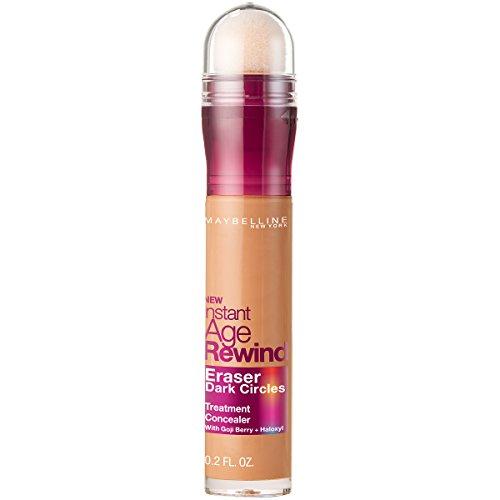 Maybelline New York Instant Age Rewind Eraser Dark Circles Treatment Concealer Makeup, Caramel, 0.2 fl. oz.