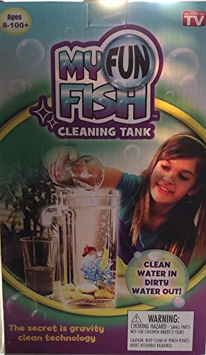 Self Cleaning Plastic Fish Tank Desktop Aquarium Betta Fishbowl for Office Home Decor