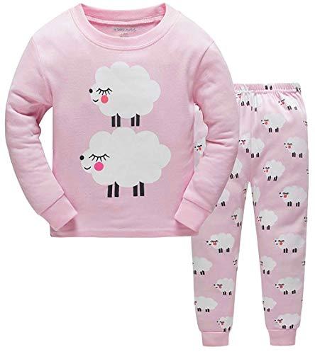 epwear 100% Cotton Pajama Top Bottom 2 Pieces Set Collection ()