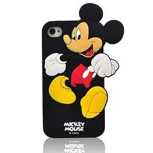 Pink Ladoo? iPhone 5C Case Phone Cover Bowknotcartoon Minnie Mouse Mickey Soft wangjiang maoyi by lolosakes