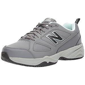 New Balance Women's WID626v2 Work Training Shoe, Grey/Blue, 9 B US