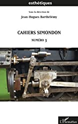 Cahiers Simondon: Numéro 3
