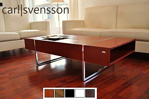 Diseño Mesa N de 111 cerezo cromo mesa Carl Svensson: Amazon.es: Hogar