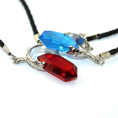 Generic 2018 _semi-precious_ stones natural crystal necklace Pendant s_ clavicle _European American_ men's _game_Devil_May_Cry_Anime_Dante_ couple necklace Pendant