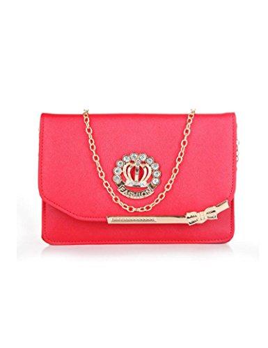 Osye Women Fashion Handbags Shoulder Bags-red