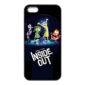 iphone5 5s phone case Black Inside Out XXD0014703
