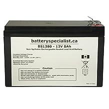 APC BACK-UPS CS 500 BK500 - Battery Replacement - 12V 8Ah