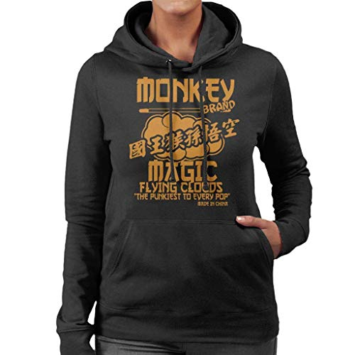 Flying Monkeys Hooded Sweatshirt - NBUQSG Monkey Magic Flying Clouds The Pukiest to Every Pop Women's Hooded Sweatshirt