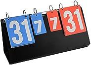 4 Digit Scoreboard Sports-4-Digit Sports Competition Score Board Scoreboard for Table Tennis Basketball Badmin