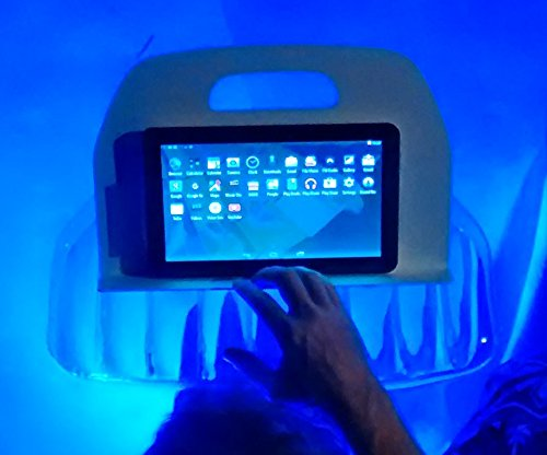 AquaReader Floating Book/Tablet Caddy for Bath, Pool, and Hot Tub (Caddy Store Hot Tub Spa)