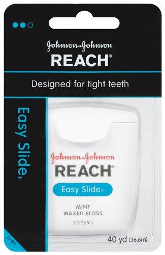 - Reach Easy Slide Mint Floss, 40-Yards (Pack of 6)