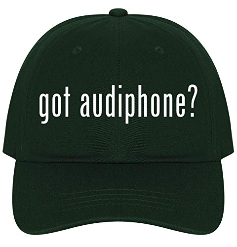 The Town Butler got Audiphone? - A Nice Comfortable Adjustable Dad Hat Cap, Forest