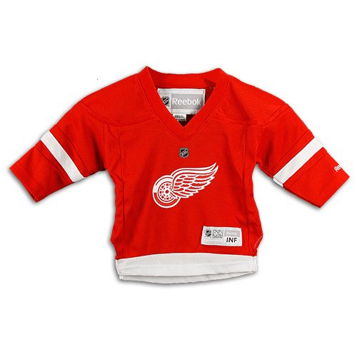 NHL Infant Detroit Red Wings Team Color Replica Jersey (Red, 12-24 -