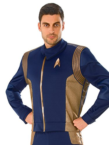 Rubie's 821206-STD Star Trek Discovery Operations Costume Uniform, Copper, Standard -