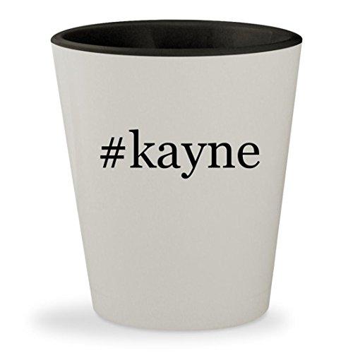 #kayne - Hashtag White Outer & Black Inner Ceramic 1.5oz Shot - Glasses Kayne West