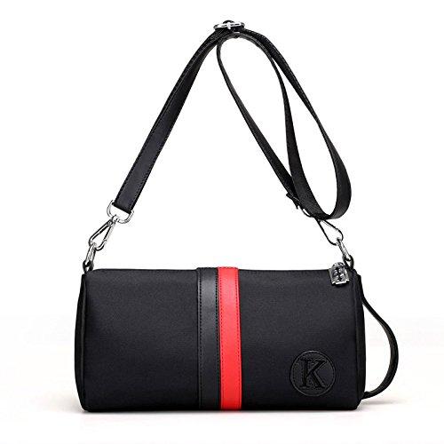 HT Women's Cross-Body Bags - Bolso cruzados para mujer blanco y negro