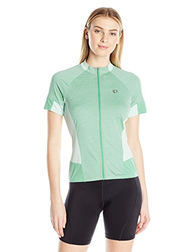 Short Ride Shorts Sleeve (Pearl iZUMi Women's Select Escape Short Sleeve Jersey, Green Spruce, X-Large)