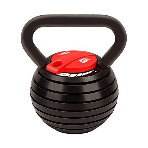 Verstelbare Kettlebell Gewicht Sets 10-40 lbs (10 lbs, 15 bs, 20 lbs, 20 lbs, 30 lbs, 30 lbs, 30 lbs), Voldoen aan…