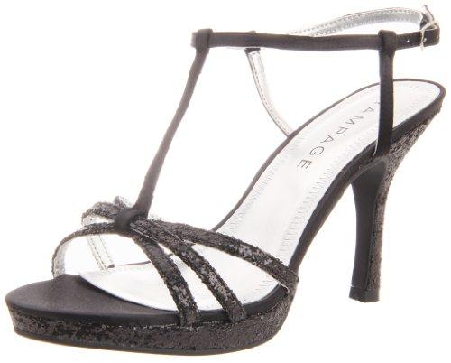 Rampage Women's Krane Ankle-Strap Sandal,Black,10 M US - Rampage T-strap Sandals