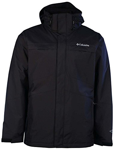 Columbia Men's Arctic Trip Interchange Omni-Heat Jacket (XXL, Black)