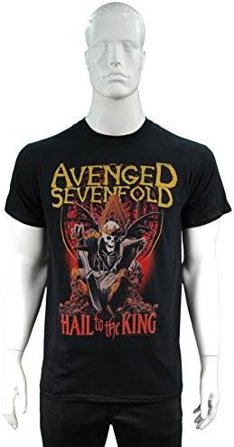 Ripleys Clothing Camiseta de Oficial Avenged Sevenfold Hail to The King día se eleva Todos los tamaños