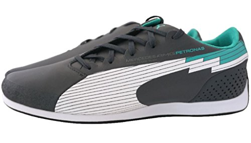 373467a6432 Puma evo-Speed Low Mercedes AMG Petronas F1 Sneaker Men EUR 38 UK 5 Herren  Schuhe  Amazon.co.uk  Shoes   Bags