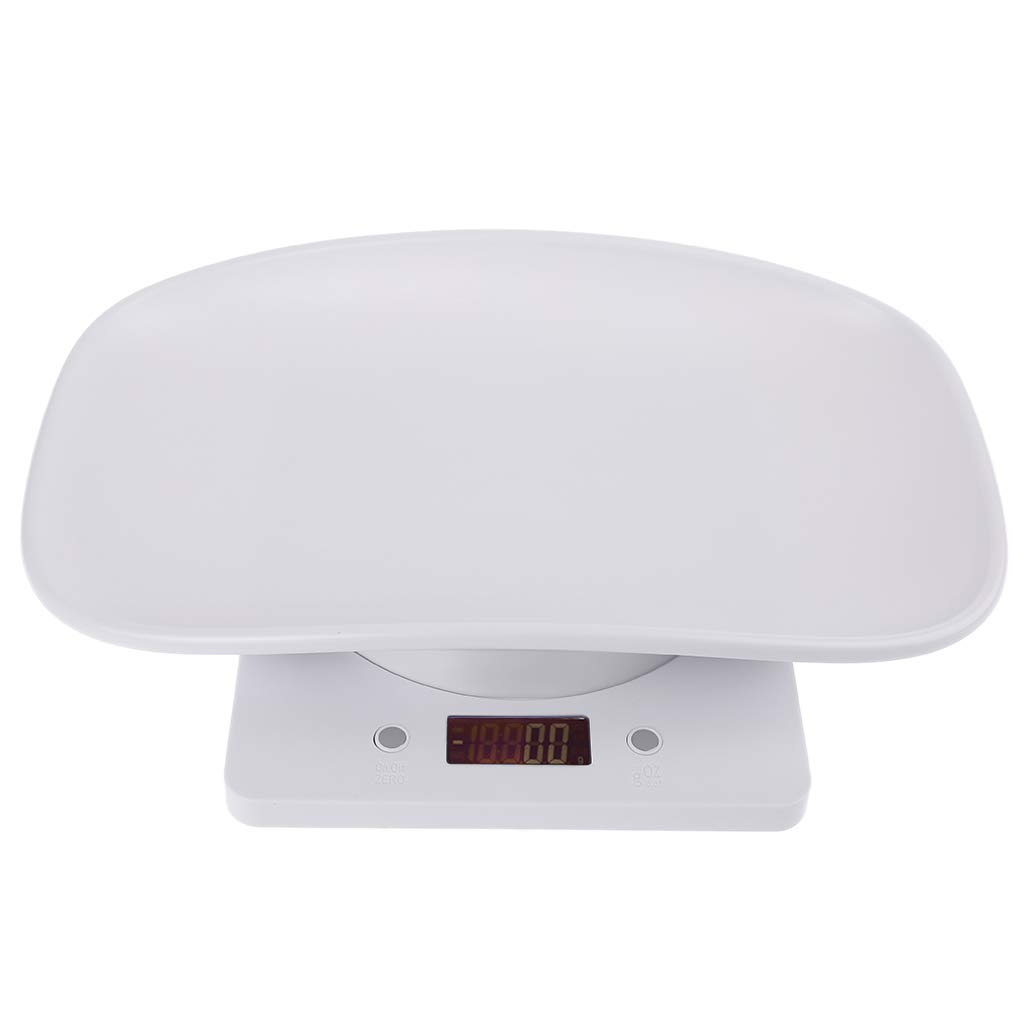 Weight Scale for Baby Infant Xiuinserty Pet Scale for Dog Cat Animal Scale Digital kg//oz//lb LCD 1g-10kg