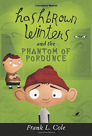 book cover of Hashbrown Winters and the Phantom of Pordunce