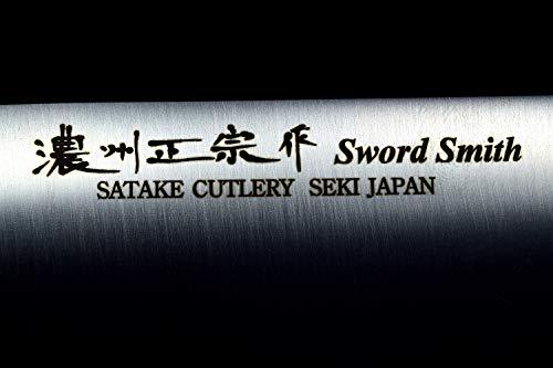 Seki Japan MASAMUNE, Japanese Vegetable Kitchen Knife, Stainless Steel Wa Nakiri Knife, PP Handle, 6.7 inch (170mm) by product of gifu japan (Image #5)