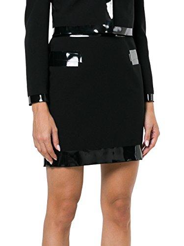 Jupe Femme Actate A010954241555 Noir MOSCHINO 7FIqxZwZ