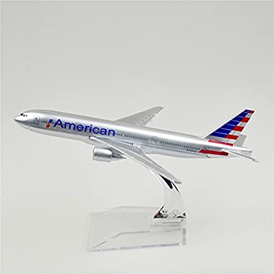 24-Hours The New American Airlines Boeing 777 Alloy Metal Model Aircraft Child Birthday Gift Plane Models chiristmas Gift