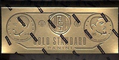 2012/13 Panini Gold Standard Basketball Cards Hobby Box (1 Pack/Box, 10 Cards/Pack, (Basketball Factory Sealed Hobby Box)