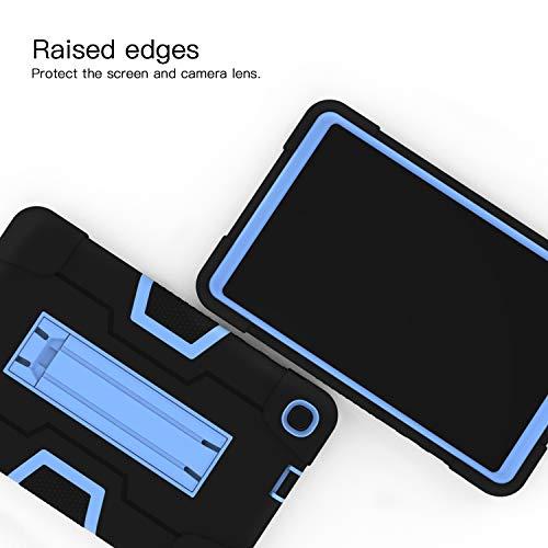 Cantis Samsung Galaxy Tab A 8.4 Case 2020 (SM-T307),Slim Heavy Duty Shockproof Rugged Case High Impact Protective Case for Samsung Galaxy Tab A 8.4 Inch 2020 (Black+Blue)
