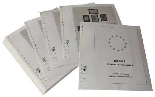 Lindner-T Vordruckblätter T290a/93 Europa Sondergebiete Europa CEPT Gemeinschaftsausgaben EU-Länder- Jahrgang 1993 bis 1999