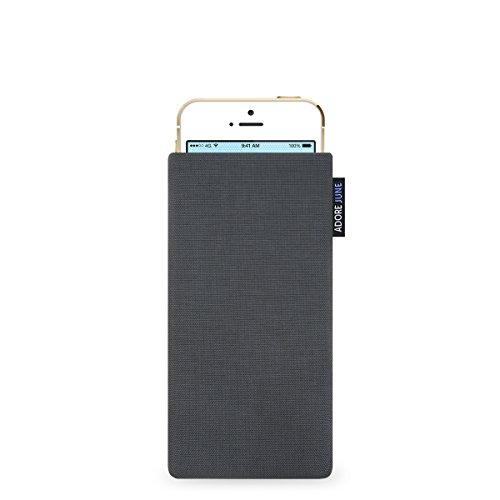 Adore June Classic Hülle für Apple iPhone 5 / 5s und iPhone SE - original Cordura - anthrazit