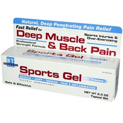 Boericke and Tafel Sports Gel, 2.5 Ounce - 3 per case.