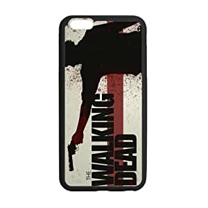 iPhone 6 Plus Case, [Walking Dead] iPhone 6 Plus (5.5) Case Custom Durable Case Cover for iPhone6 TPU case(Laser Technology)