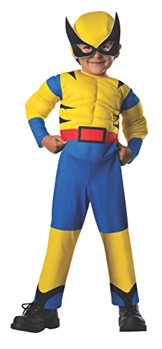 Rubie's Costume Baby Boy's Marvel Classic Costume Lil Wolverine, Multi, Toddler