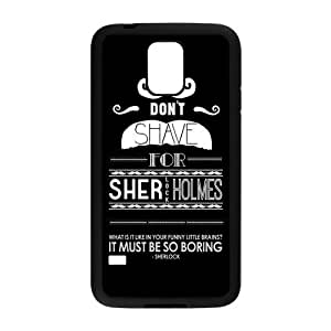 Fashion Hard Shell Snap On Slim Phone Cover Case for Samsung Galaxy S5 i9600 - Sherlock