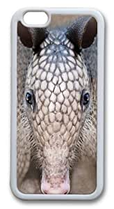 Armadillo Head TPU Case Cover for iphone 6 plus and iphone 6 plus 5.5 inch White in GUO Shop