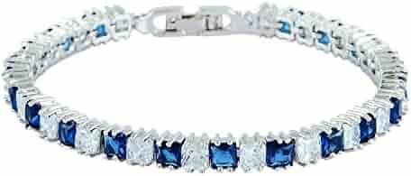 Biżuteria I Zegarki Riva Rhinestone Crystal Round Cut Green