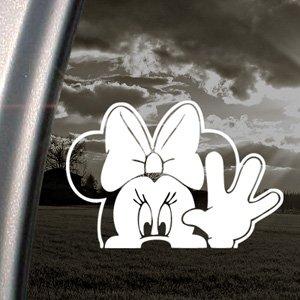 MINNIE MOUSE WAVE Decal Car Truck Window Sticker Amazoncouk - Car window stickers amazon uk