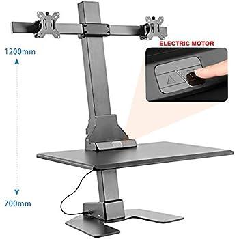 Amazon Com Halter Automatic Sit Stand Desk Converter