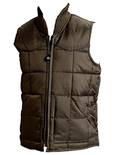Roper Boys' Boy's Rangegear Quilted Nylon Vest Taupe X-Large